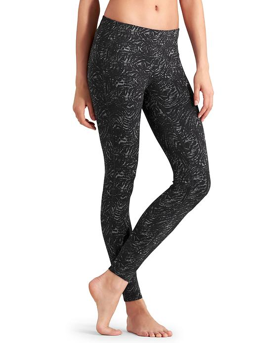 Athleta Zebra Chataranga Tights